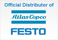 Official Distributor of Atlas Copco & Festo Products